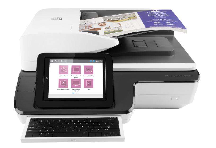 Scanjet Enterprise Flow 4500 fn1 Flatbed Scanner (L2749A)